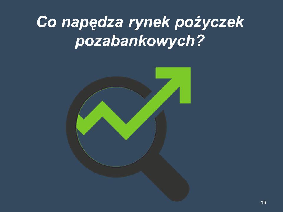 Co napędza rynek pożyczek pozabankowych? 19