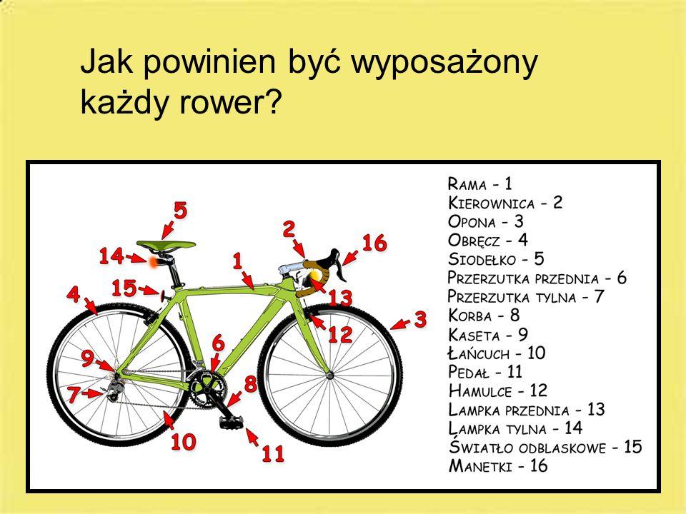 Jak powinien być wyposażony każdy rower