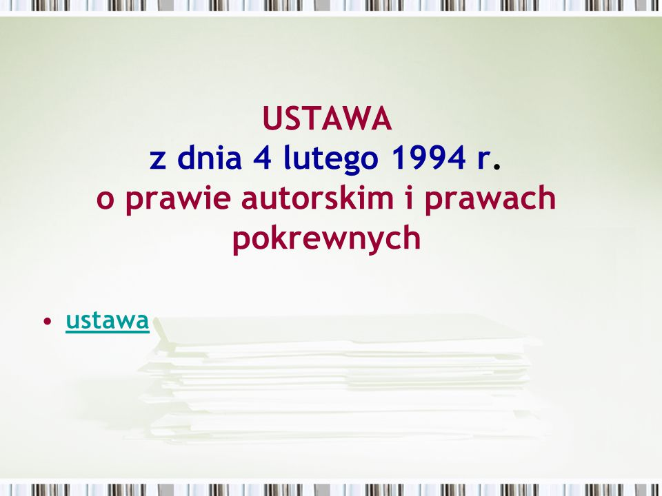 Licencja na oprogramowanie jest umową na korzystanie z aplikacji komputerowej zawartą między osobą której przysługują prawa autorskie a osobą która zamierza z tej aplikacji korzystać.