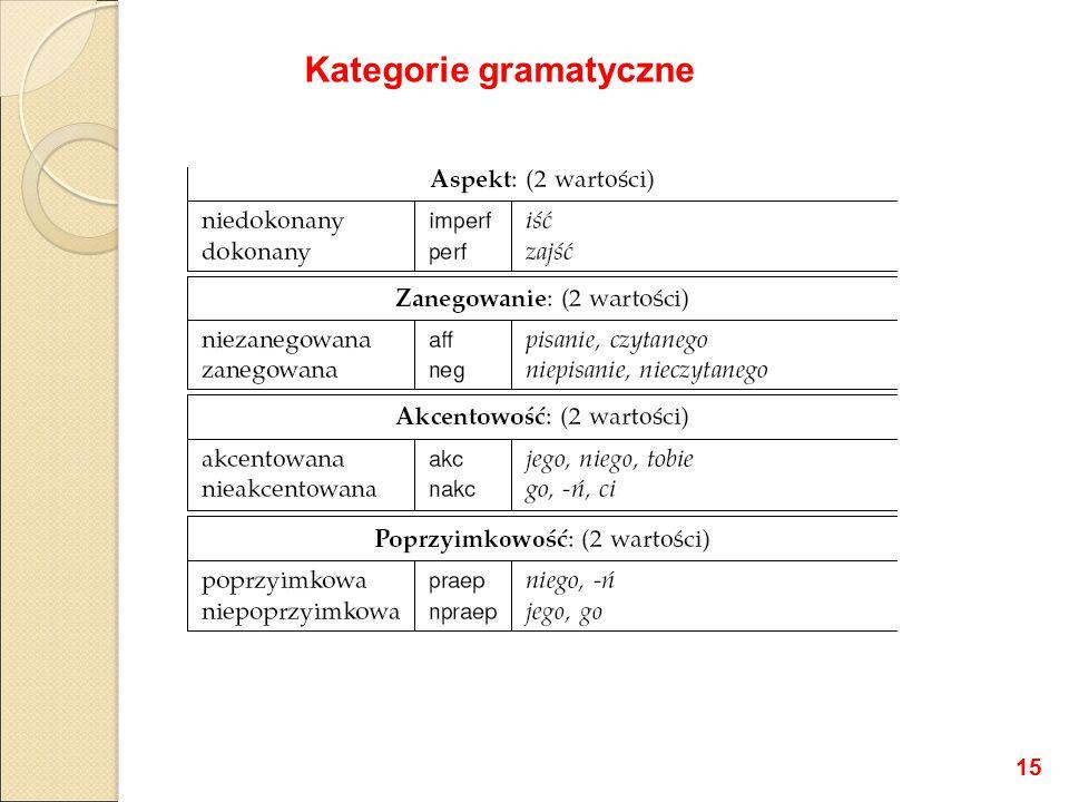 Kategorie gramatyczne 15