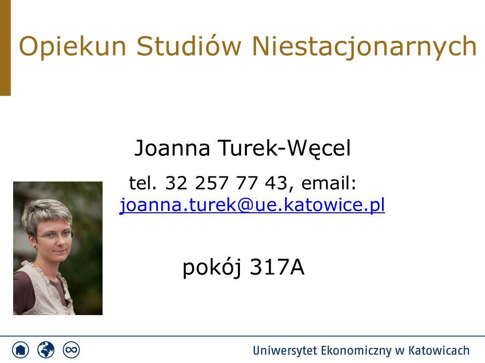 Opiekun Studiów Stacjonarnych Beata Lepiarz tel.
