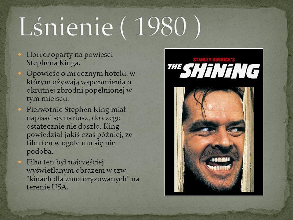 Horror oparty na powieści Stephena Kinga.