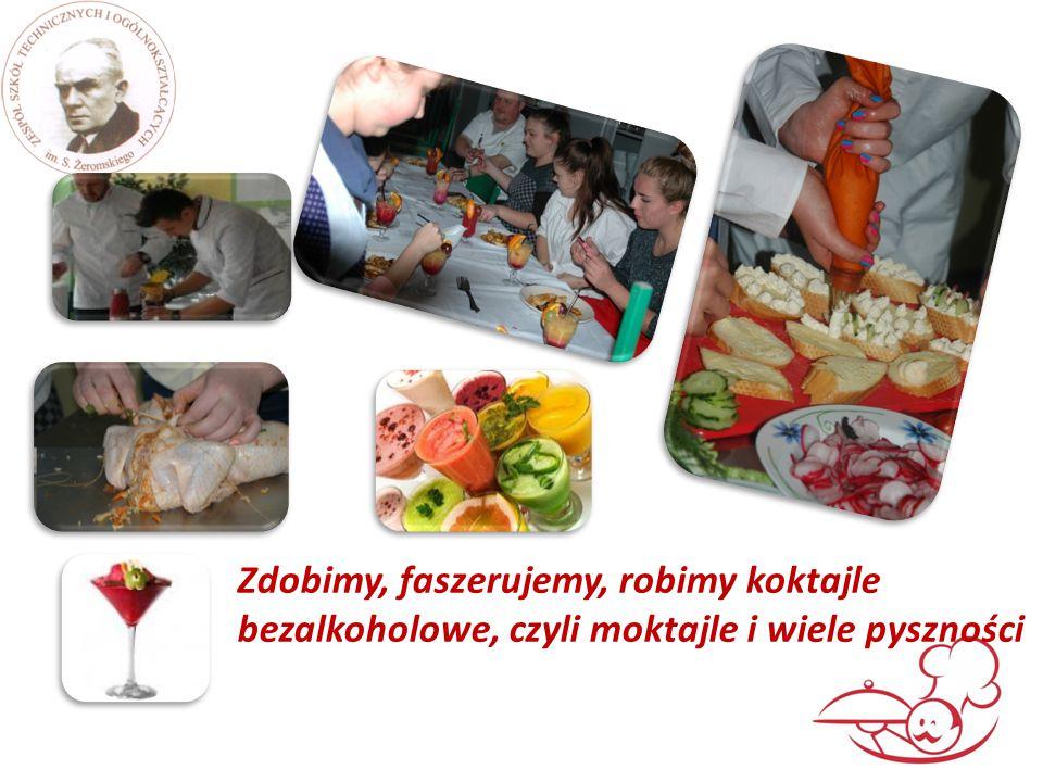  Egzamin odbywa się pod koniec klasy drugiej i obejmuje:  Przechowywanie żywności  Sporządzanie i ekspedycja potraw i napojów