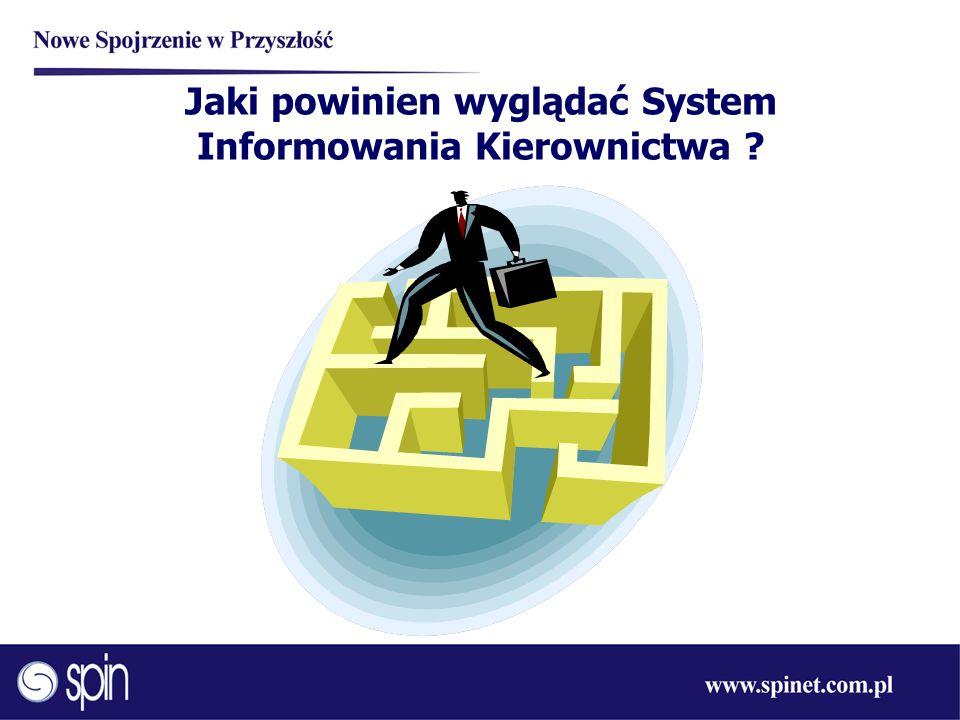 Jaki powinien wyglądać System Informowania Kierownictwa ?