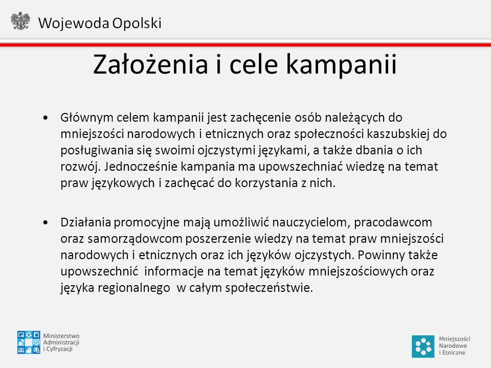 Zasięg kampanii Kampania promocyjna jest prowadzona w całej Polsce za pomocą materiałów informacyjnych w postaci broszur i ulotek oraz konspektu lekcji.