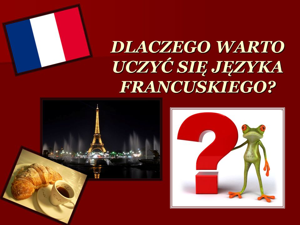 Znajomość francuskiego otwiera dostęp do ponad 170 milionów serwisów internetowych w tym języku
