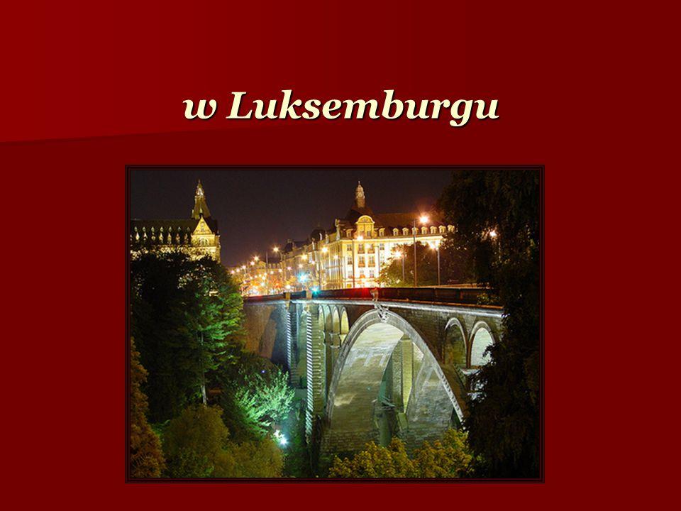 w Luksemburgu