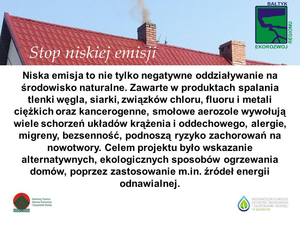 Niska emisja to nie tylko negatywne oddziaływanie na środowisko naturalne. Zawarte w produktach spalania tlenki węgla, siarki, związków chloru, fluoru