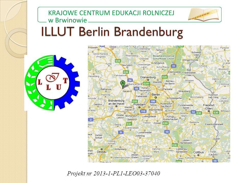 ILLUT Berlin Brandenburg Projekt nr 2013-1-PL1-LEO03-37040