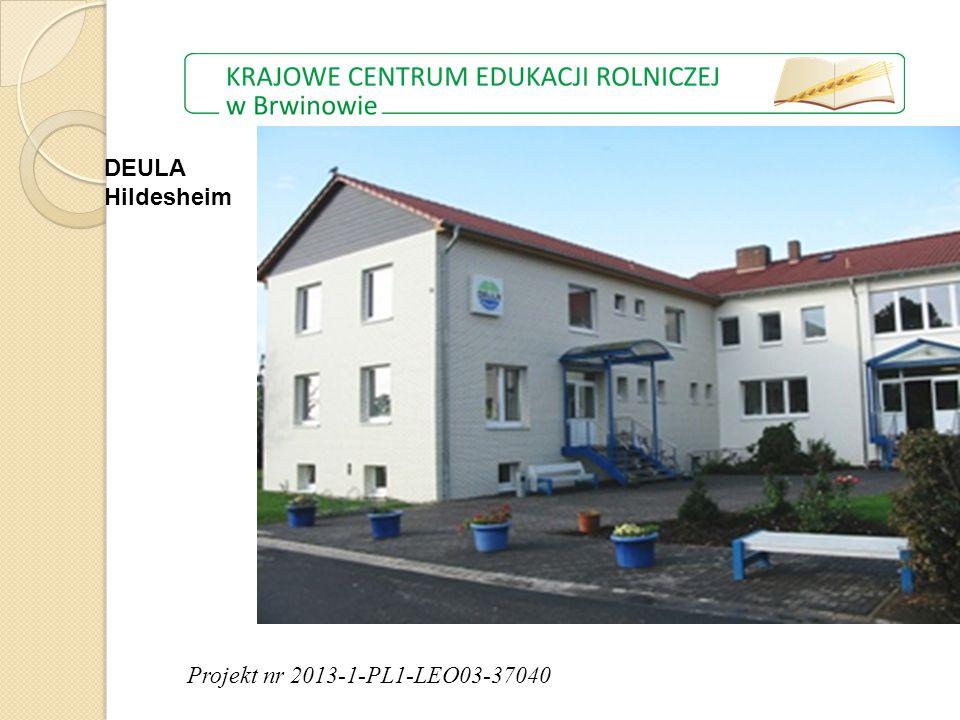 Projekt nr 2013-1-PL1-LEO03-37040 DEULA Hildesheim