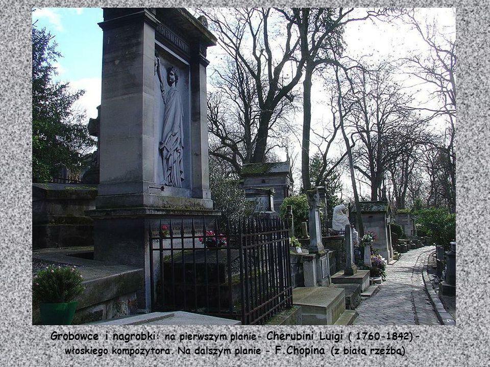 Nagrobek Leona Théry (1879-1909) kierowcy stajni Richard- Brasier znanego pod pseudonimem Chronometr.