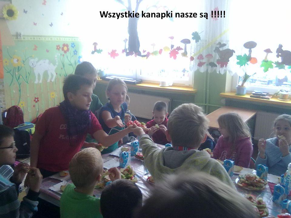 Wszystkie kanapki nasze są !!!!!