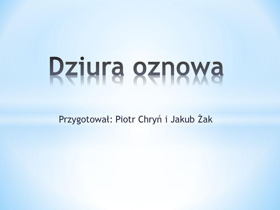 Przygotował: Piotr Chryń i Jakub Żak