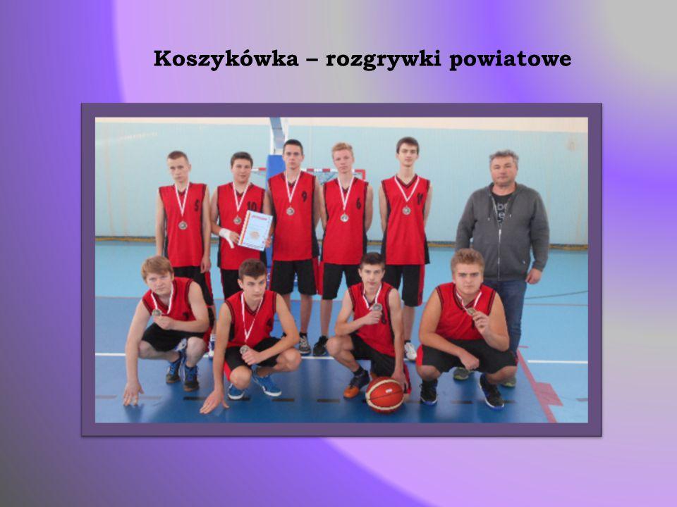 Koszykówka – rozgrywki powiatowe