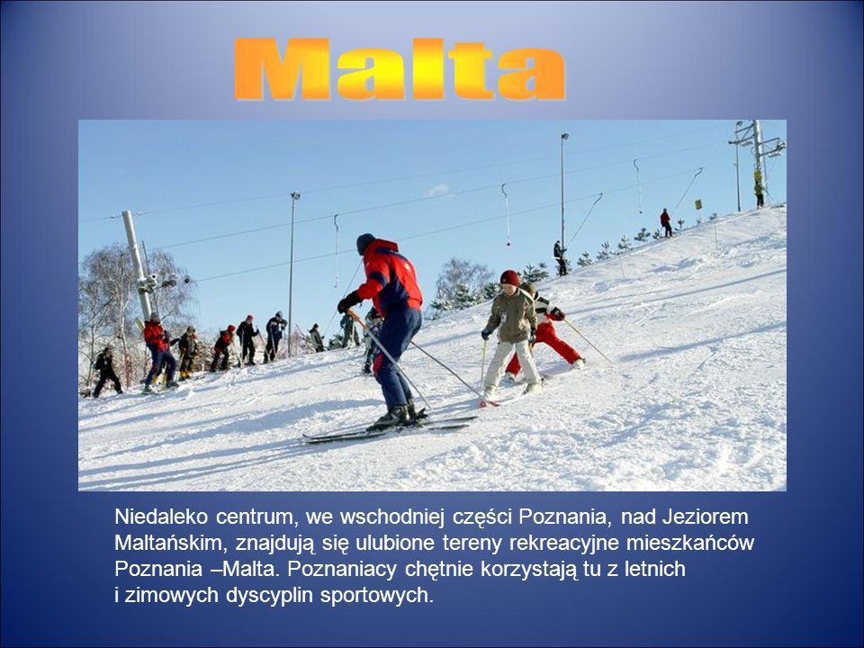 Niedaleko centrum, we wschodniej części Poznania, nad Jeziorem Maltańskim, znajdują się ulubione tereny rekreacyjne mieszkańców Poznania –Malta. Pozna