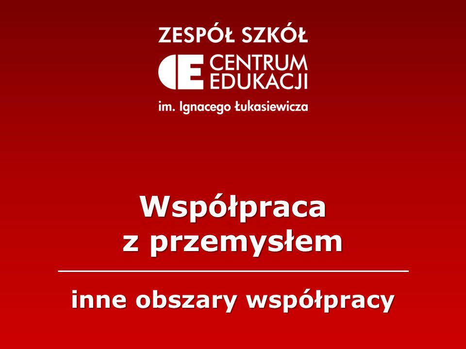 Współpraca z przemysłem inne obszary współpracy
