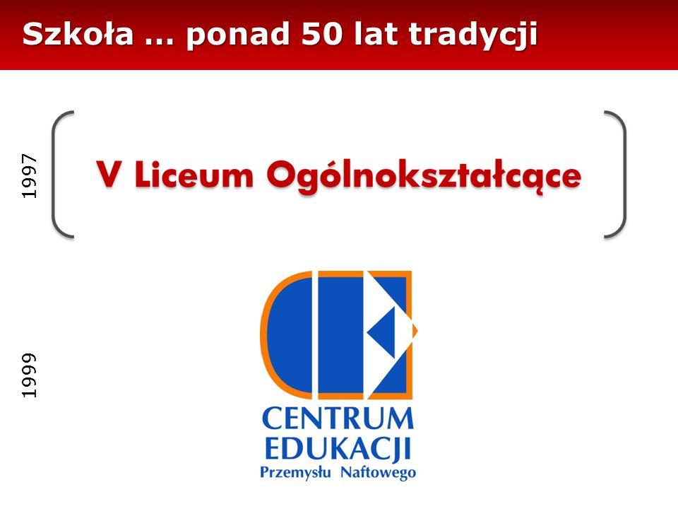 Szkoła … ponad 50 lat tradycji 1997 1999