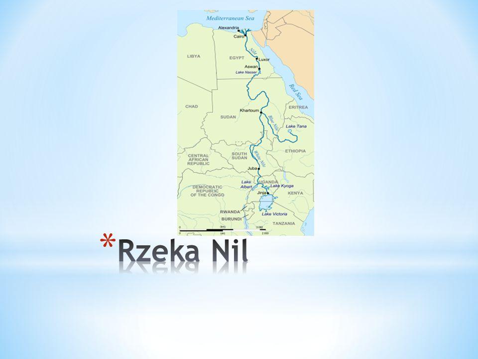 Najdłuższa rzeka w Egipcie, która płynie przez całe państwo.