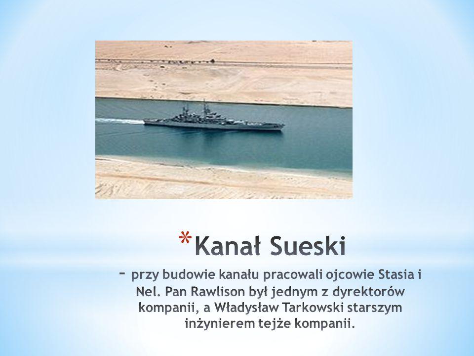 * Kanał Sueski – wykopany w latach 1859-1869 kanał głębokowodny dla statków morskich, łączący Morze Śródziemne z Morzem Czerwonym.18591869Morze ŚródziemneMorzem Czerwonym
