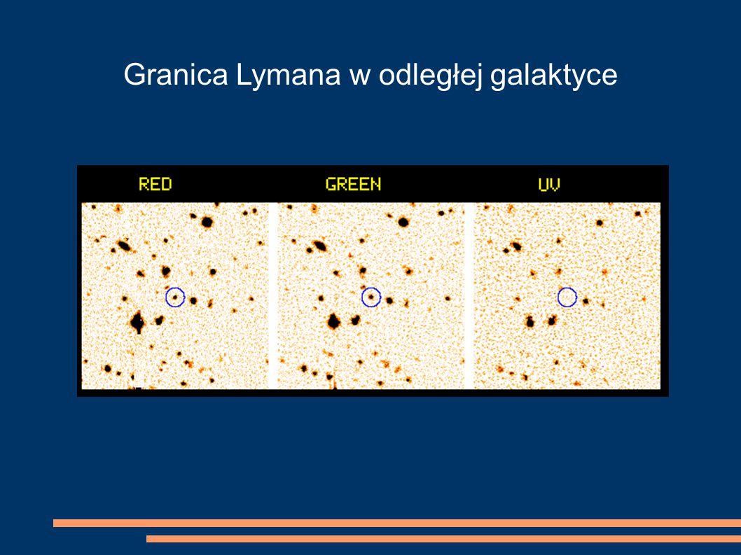 Granica Lymana w odległej galaktyce