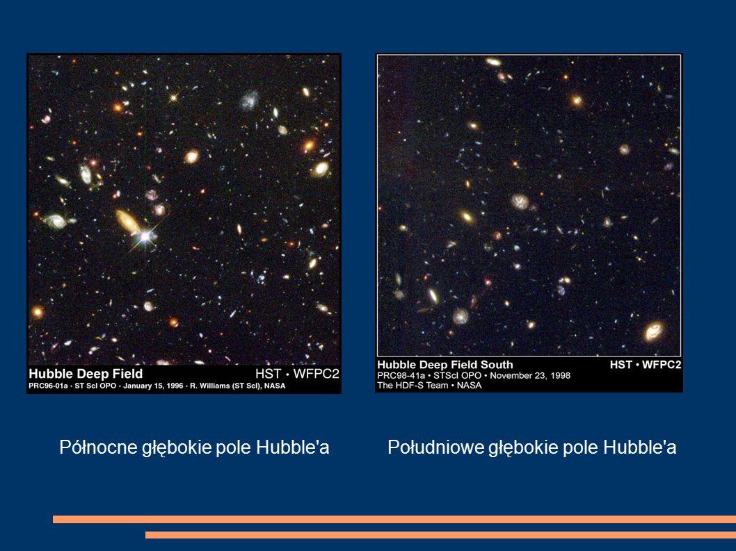 Północne głębokie pole Hubble'aPołudniowe głębokie pole Hubble'a