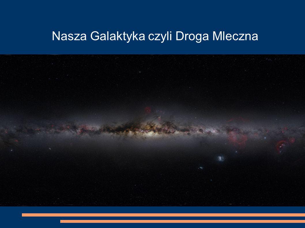 Nasza Galaktyka czyli Droga Mleczna