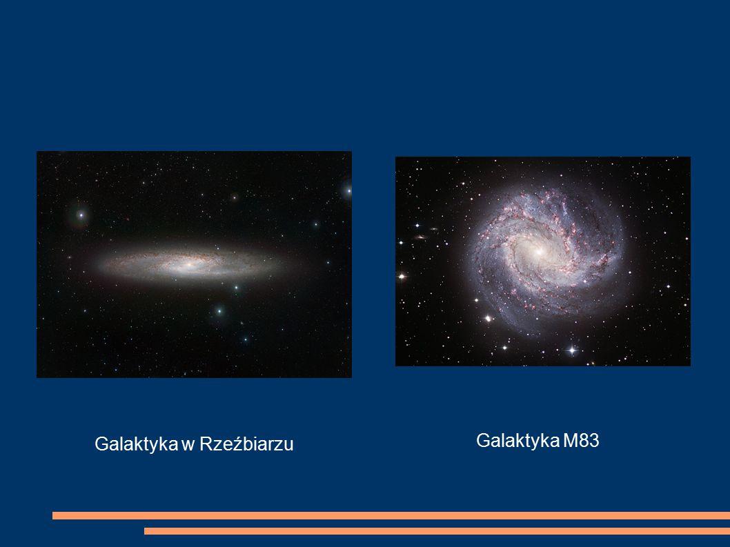 Galaktyka w Rzeźbiarzu Galaktyka M83