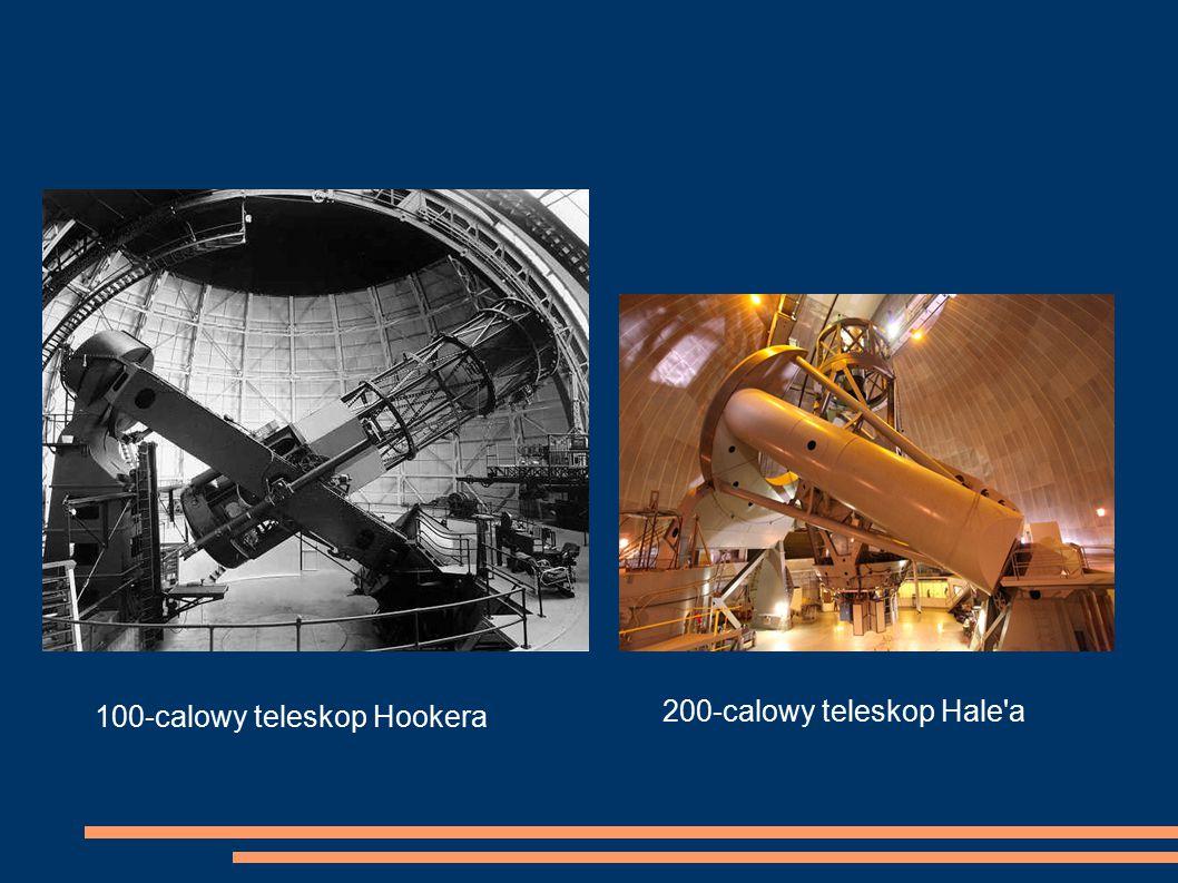 100-calowy teleskop Hookera 200-calowy teleskop Hale'a