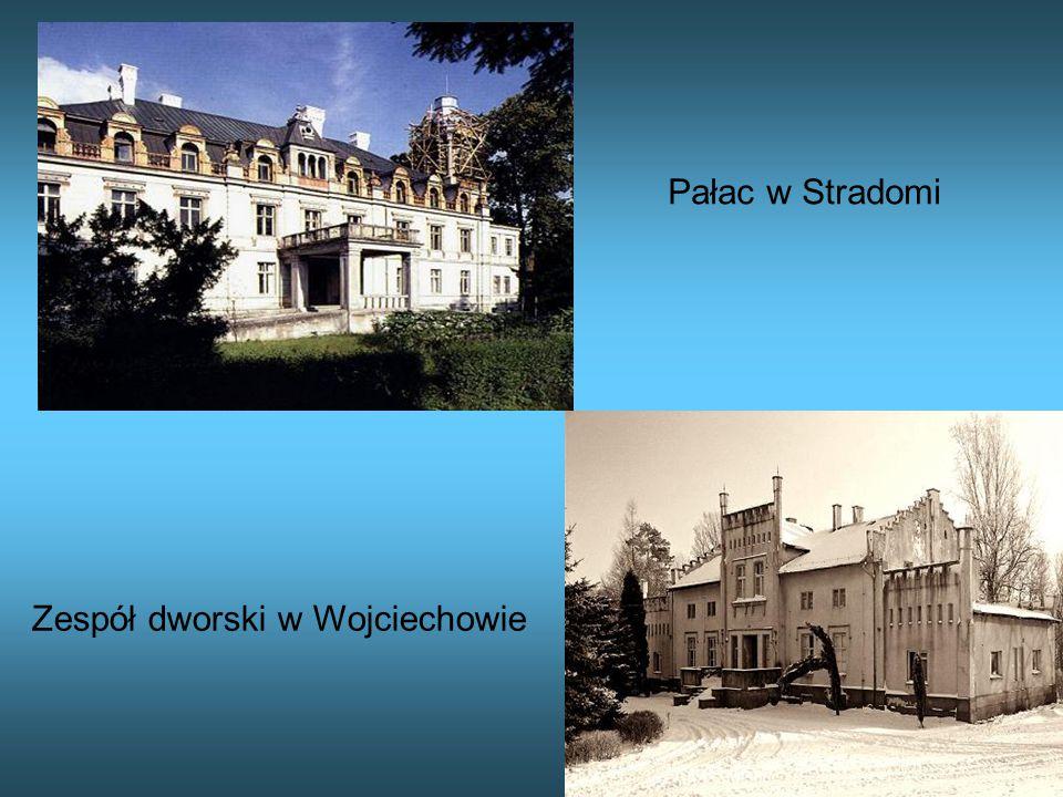 Pałac w Stradomi Zespół dworski w Wojciechowie