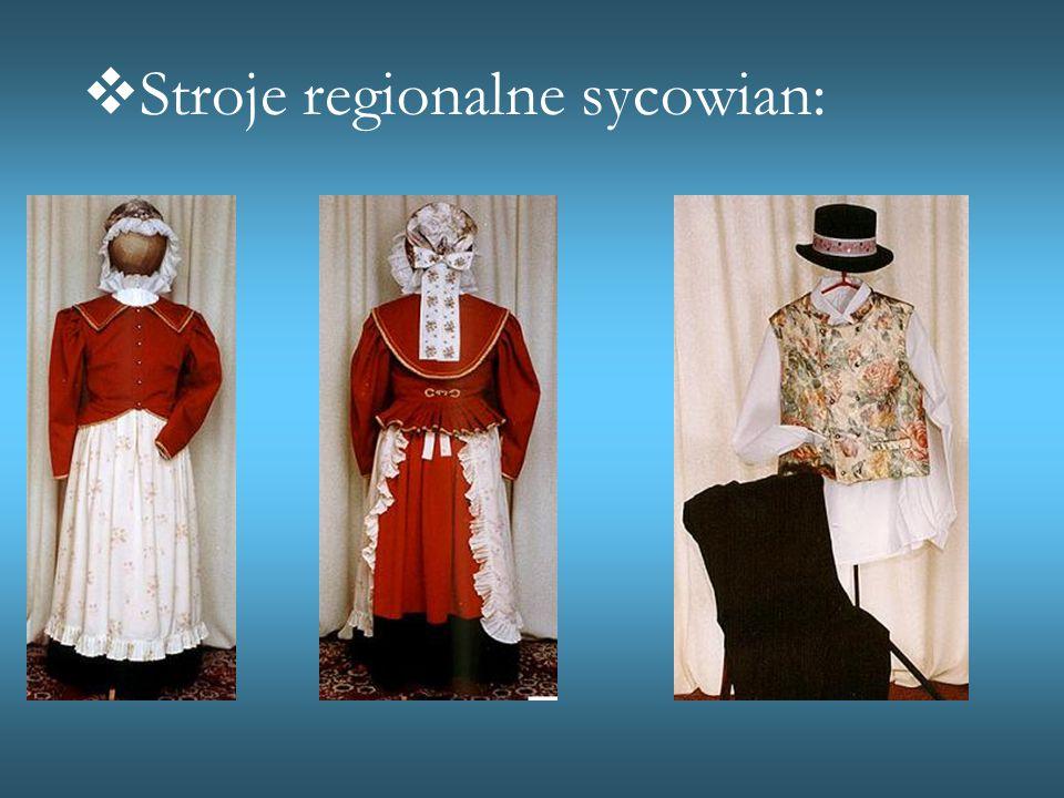  Stroje regionalne sycowian: