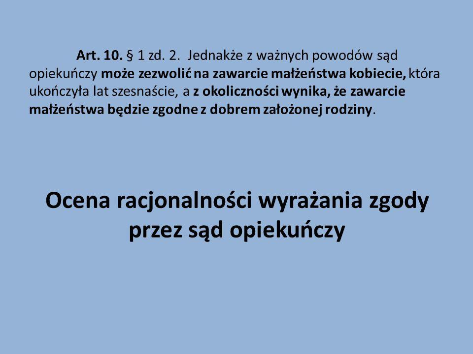 Art.10. § 1 zd. 2.