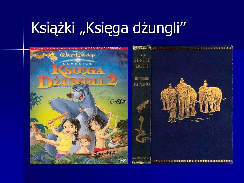 """Książki """"Księga dżungli"""
