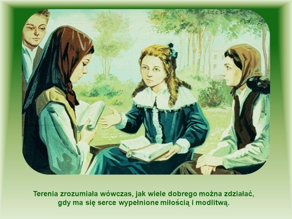 Postanowiła więc, że wstąpi do klasztoru Sióstr Karmelitanek.