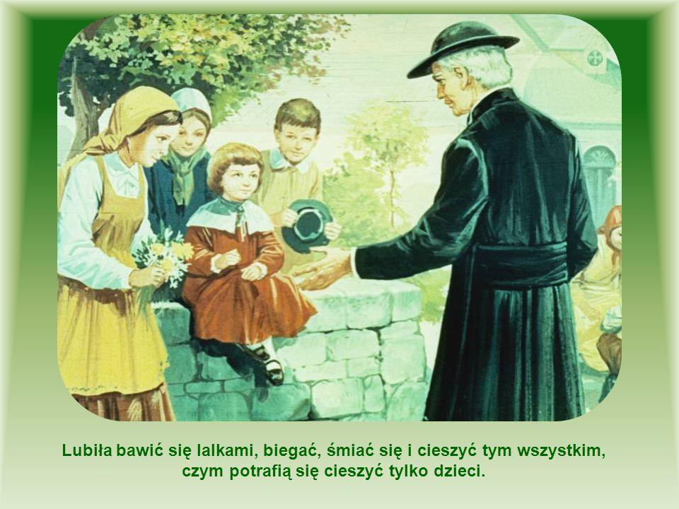 Lubiła bawić się lalkami, biegać, śmiać się i cieszyć tym wszystkim, czym potrafią się cieszyć tylko dzieci.