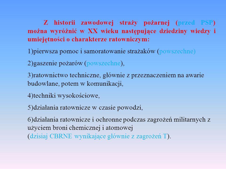 System ratowniczy na obszarze powiatu i województwa działa w oparciu o powiatowy i wojewódzki plan ratowniczy.