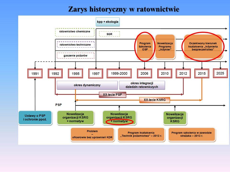 Organizacja ratownictwa w KSRG do 2010 r.