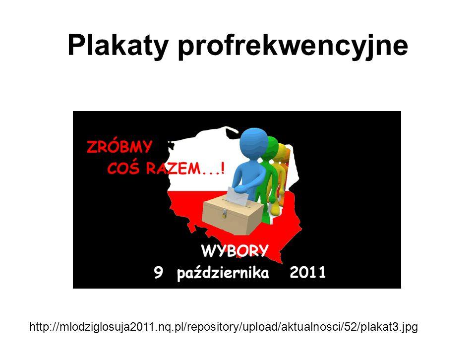 Plakaty profrekwencyjne http://mlodziglosuja2011.nq.pl/repository/upload/aktualnosci/52/plakat3.jpg