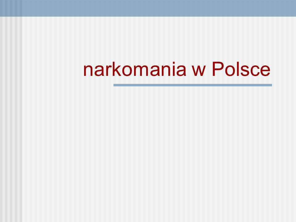 narkomania w Polsce