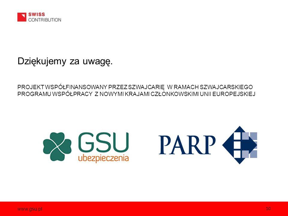 www.gsu.pl Dziękujemy za uwagę.