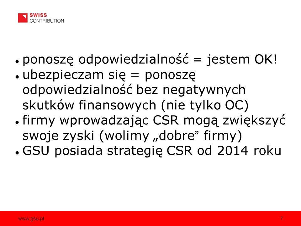 www.gsu.pl 7 ponoszę odpowiedzialność = jestem OK.