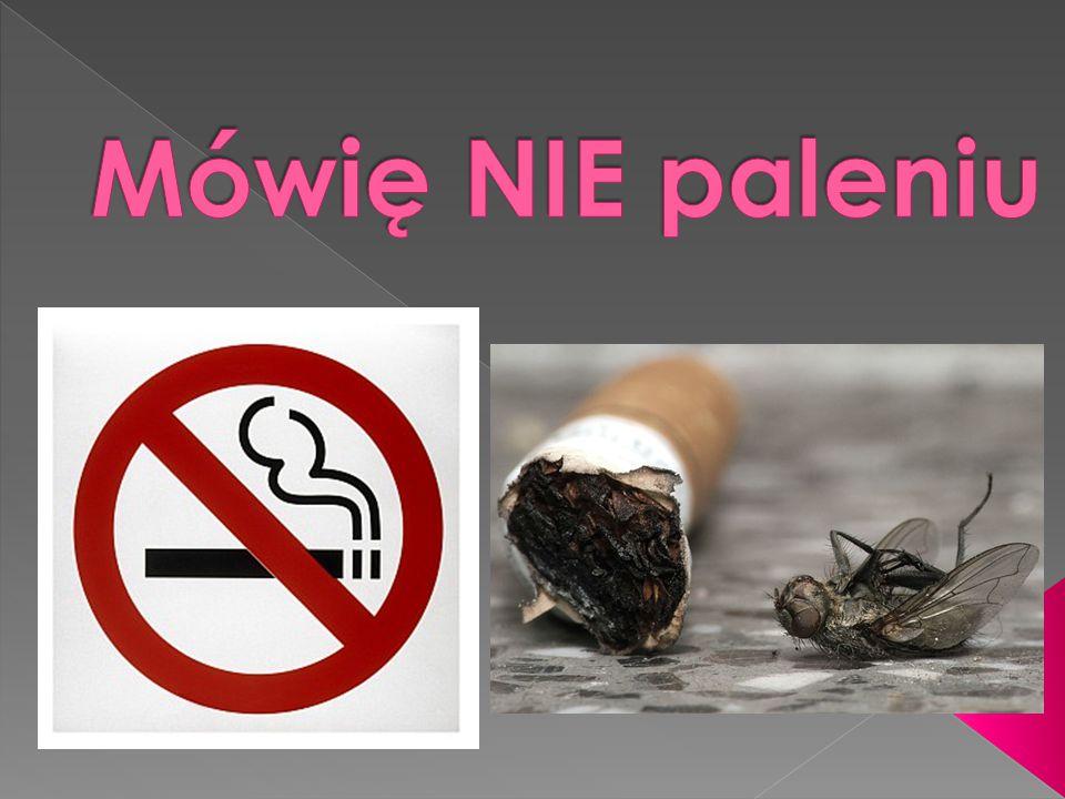  Inne Palenie papierosów osłabia czynności narządów zmysłów - wzroku, słuchu, smaku, węchu i czucia.