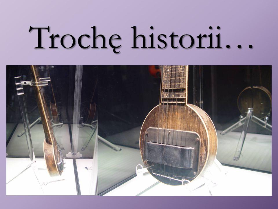 Ewolucja gitary elektrycznej