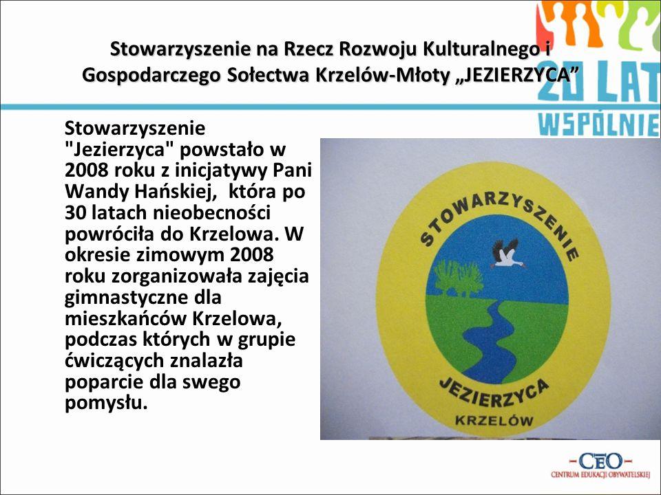 """Stowarzyszenie na Rzecz Rozwoju Kulturalnego i Gospodarczego Sołectwa Krzelów-Młoty """"JEZIERZYCA"""" Stowarzyszenie"""