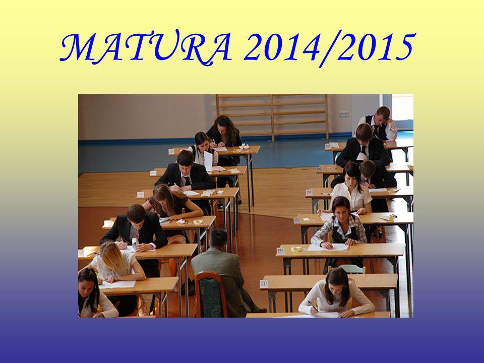 MATURA 2014/2015