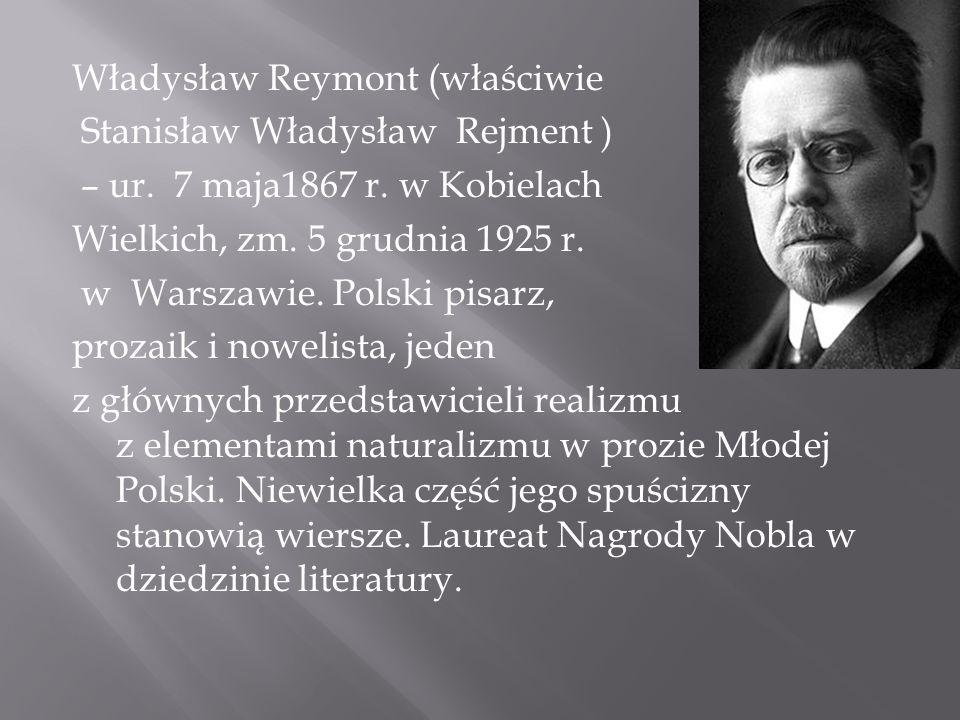 7 Maja 1867 r.- narodziny pisarza W latach uczył się zawodu krawieckiego w Warszawie, po czym został czeladnikiem.