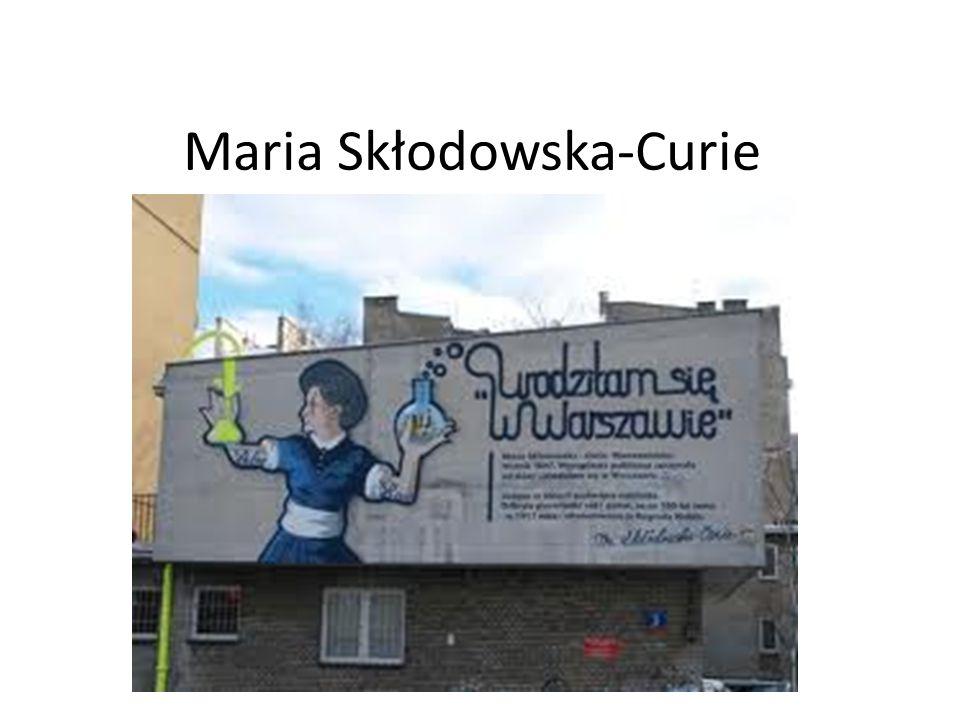 Sobota, 18 październik 2014 rok Temat: Maria Skłodowska-Curie, uczona wszechczasów.