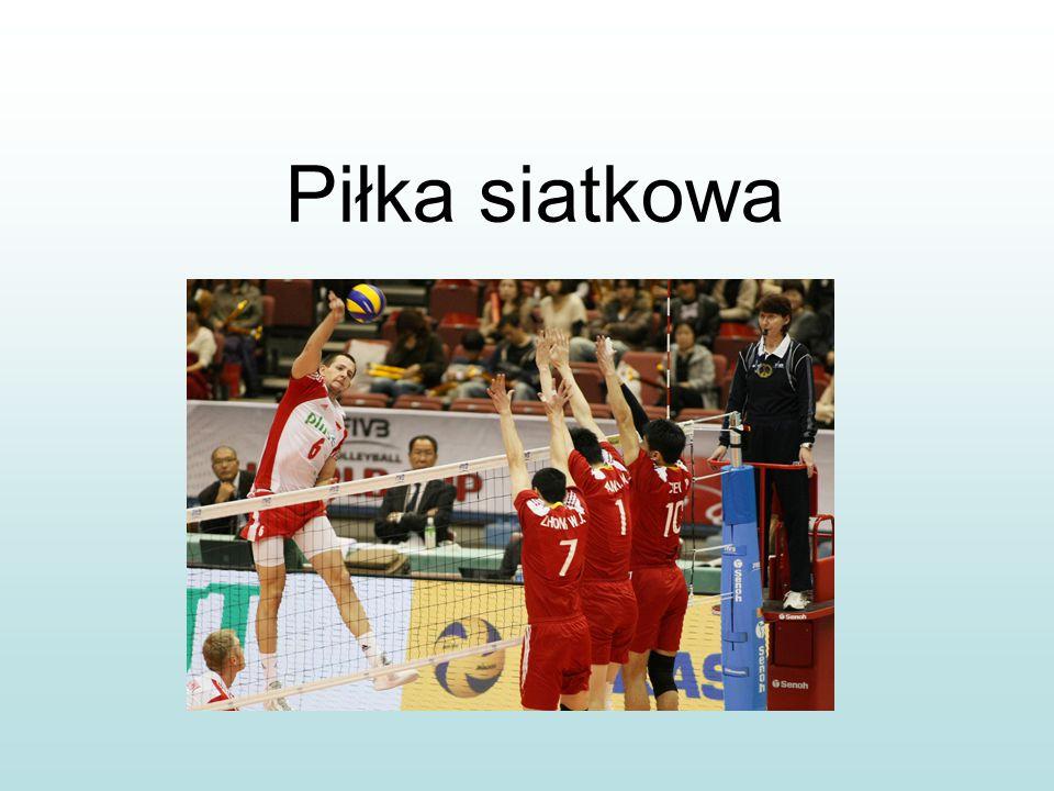 Siatkówka – to sport drużynowy, w którym uczestniczą dwa zespoły sześcioosobowe.