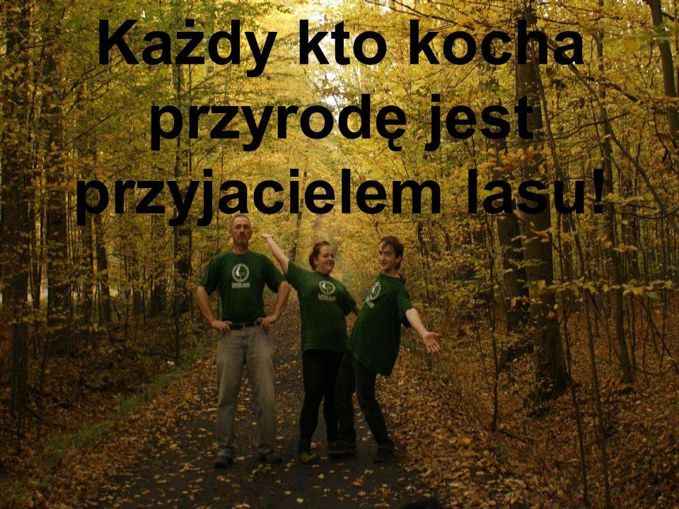Każdy kto kocha przyrodę jest przyjacielem lasu!