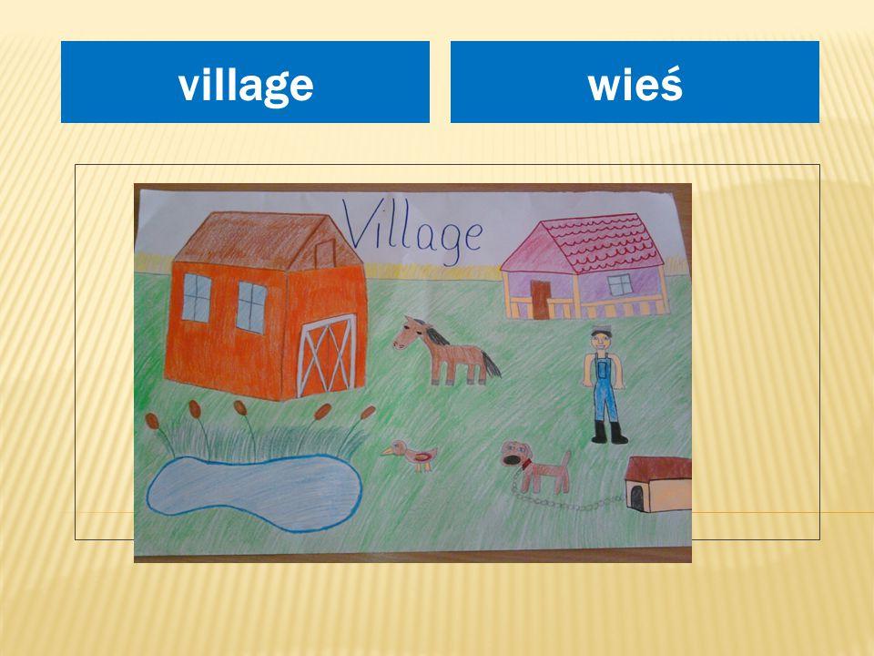miejsce na rysunek wieśvillage