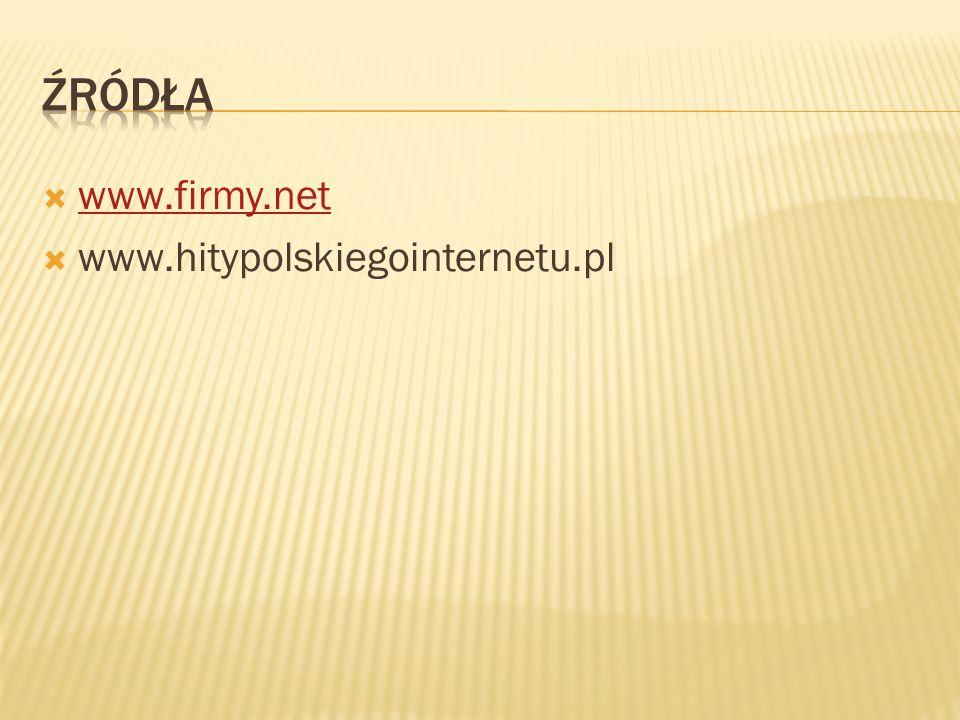  www.firmy.net www.firmy.net  www.hitypolskiegointernetu.pl